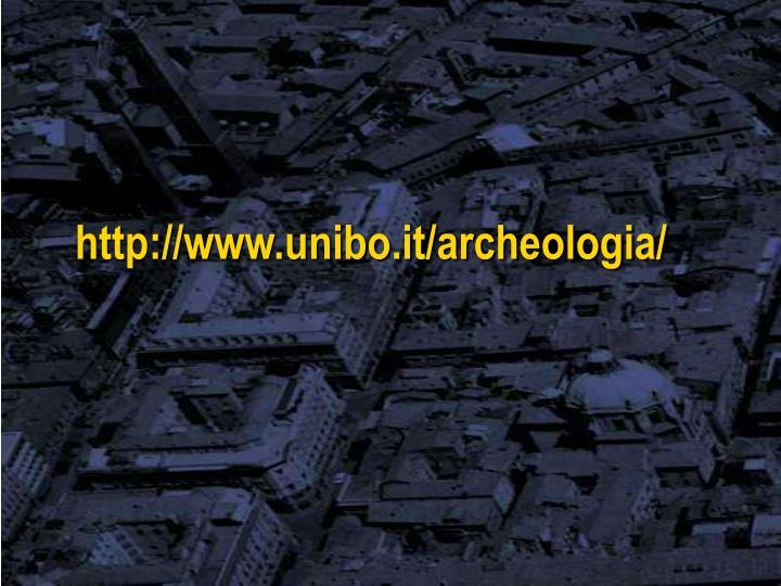 http://www.unibo.it/archeologia/