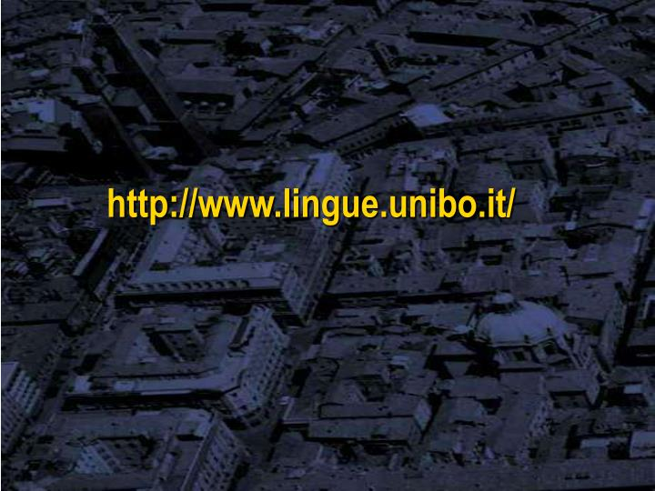 http://www.lingue.unibo.it/