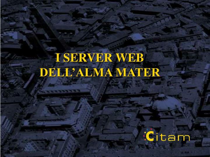 I SERVER WEB