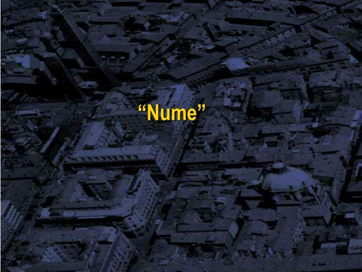 """Nume"""