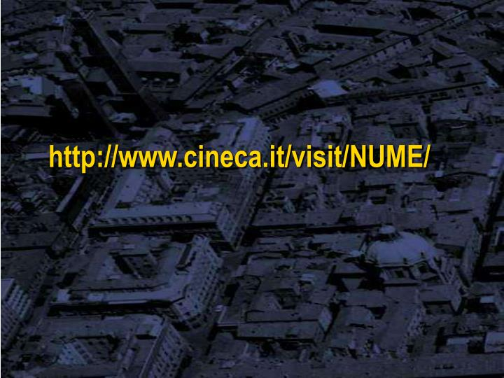 http://www.cineca.it/visit/NUME/
