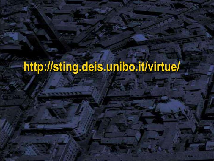 http://sting.deis.unibo.it/virtue/