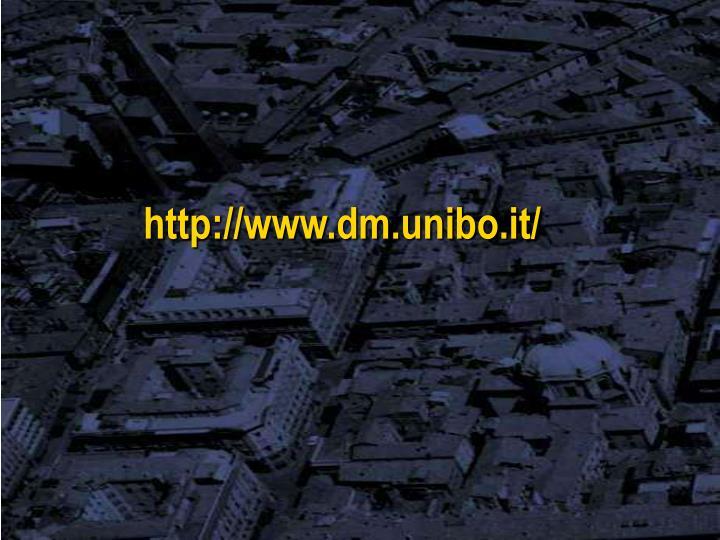 http://www.dm.unibo.it/