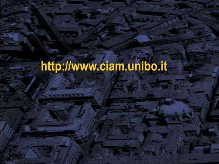 http://www.ciam.unibo.it