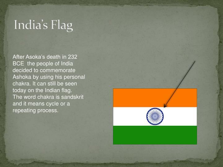 India's Flag