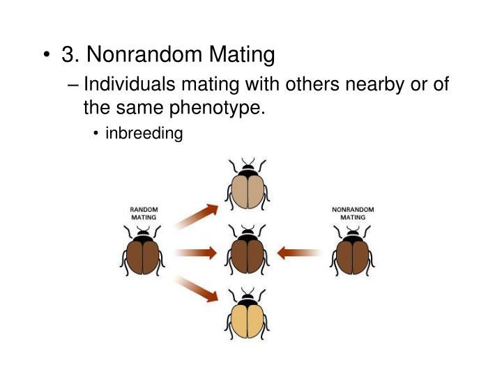 3. Nonrandom Mating