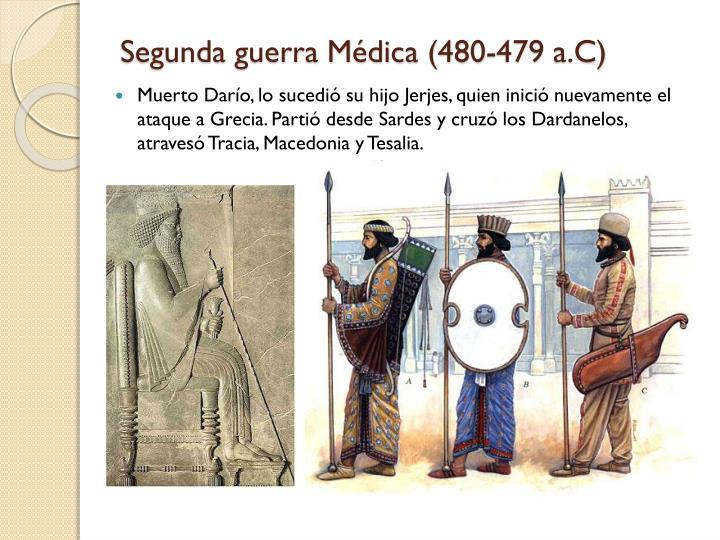 Segunda guerra Médica (480-479 a.C)