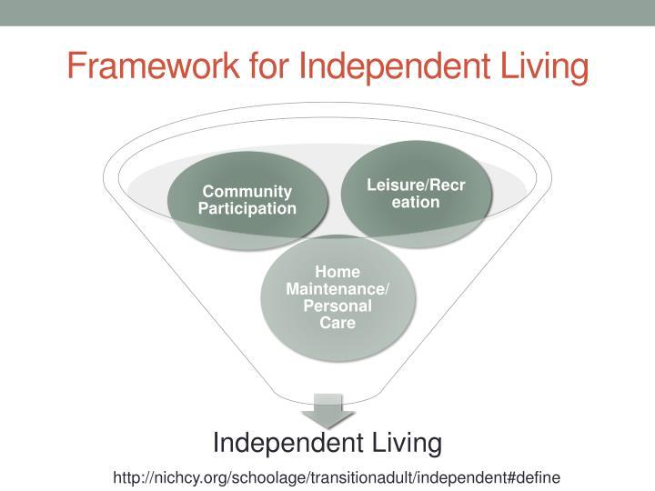 Framework for Independent Living