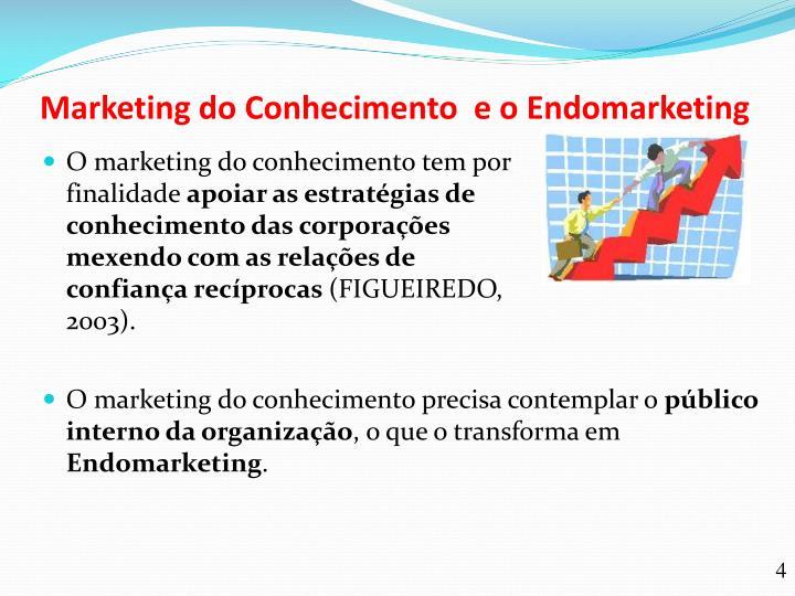 Marketing do Conhecimento  e o Endomarketing
