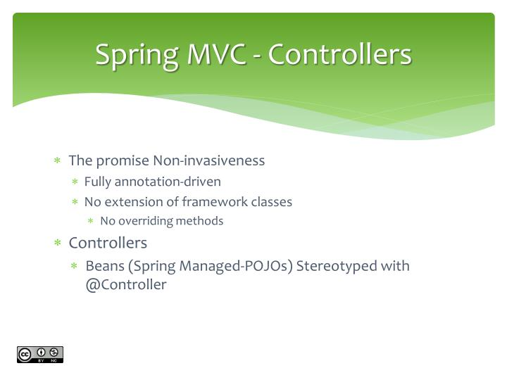 Spring MVC - Controllers