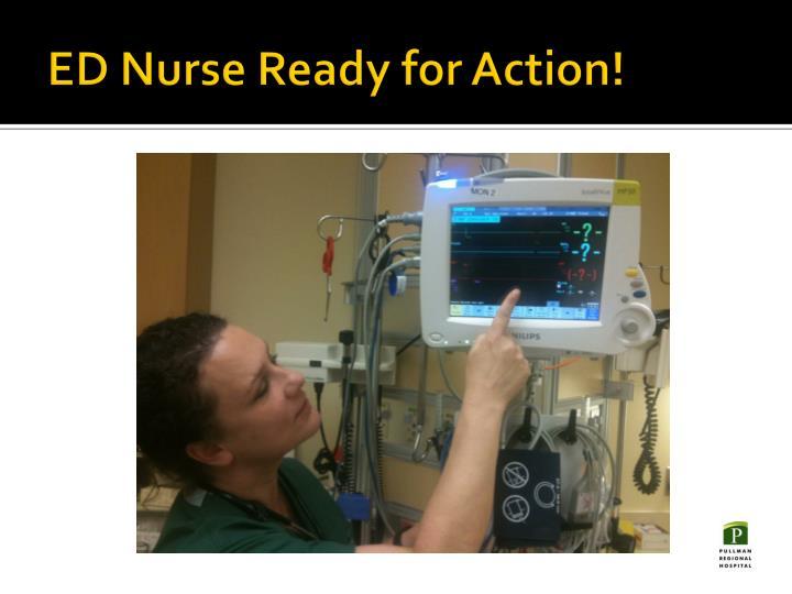 ED Nurse Ready for Action!