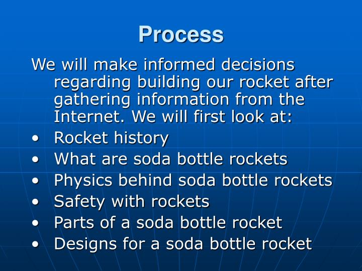 a look at the physics of rockets and its research throughout history Below are links to a brief history timeline of rocketry, a comparison between water rockets and a nasa rocket, and additional information on the parts of a water rocket timeline of rocketry.