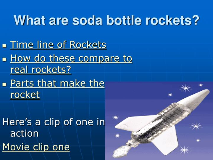 how to make a soda bottle rocket