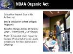 noaa organic act1