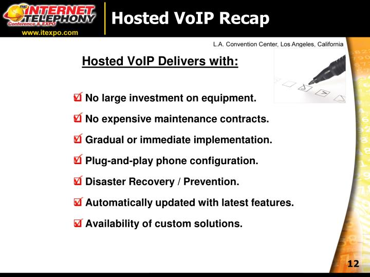 Hosted VoIP Recap