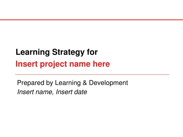 Insert project name here