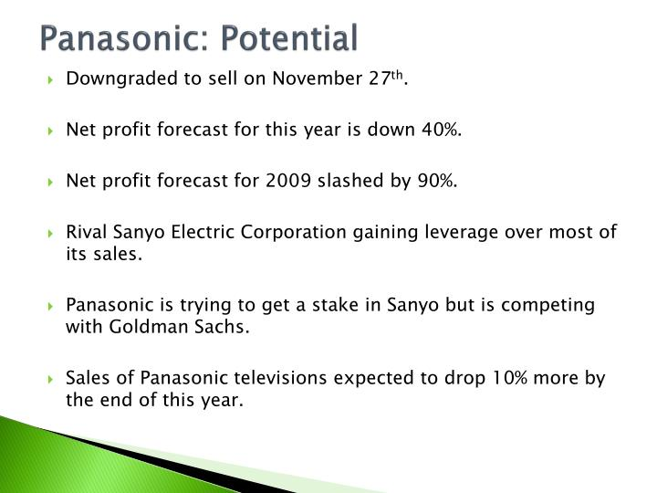 Panasonic: Potential
