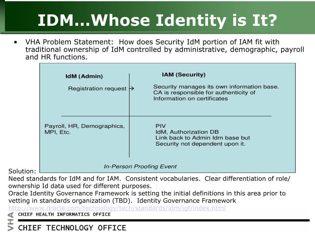 PPT - Identity & Access Management PowerPoint Presentation