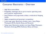 consumer electronics overview
