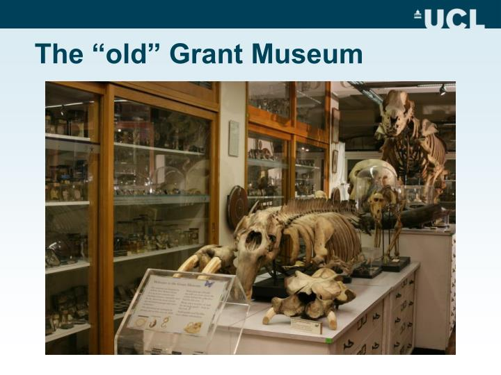 The old grant museum