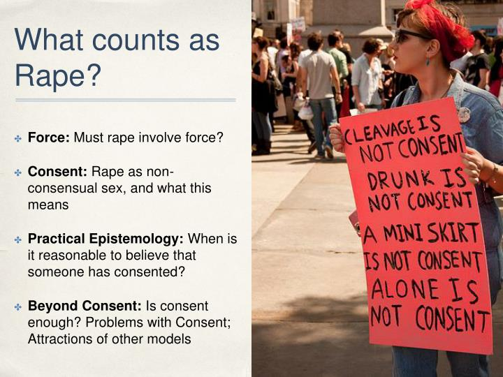 What counts as rape