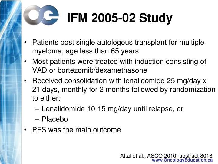 IFM 2005-02 Study
