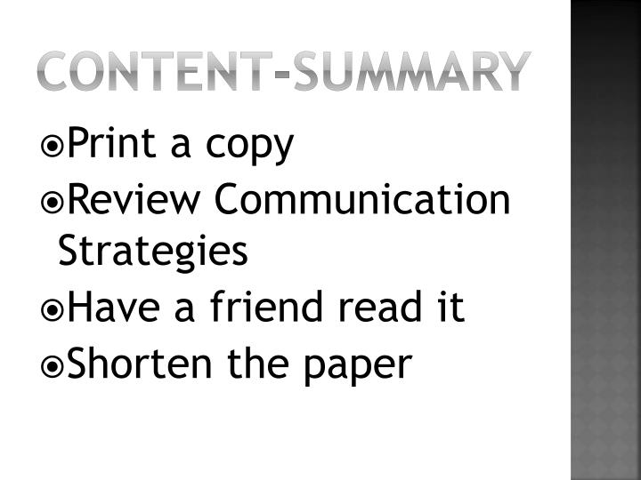 Content-Summary