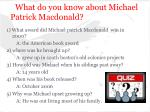 what do you know about michael patrick macdonald