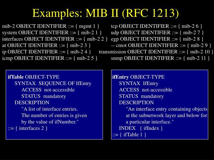 mib-2 OBJECT IDENTIFIER ::= { mgmt 1 }