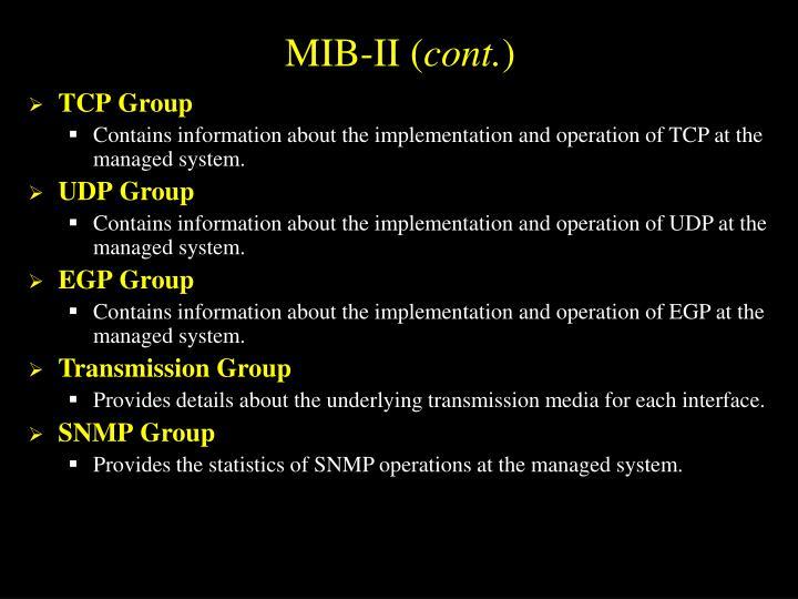 MIB-II (