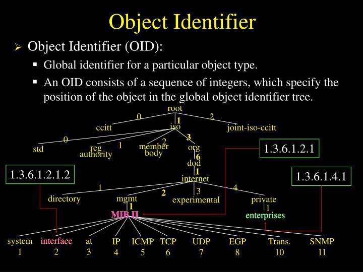 Object Identifier
