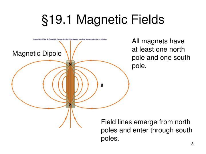 19 1 magnetic fields