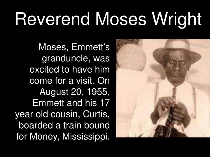 Reverend Moses Wright