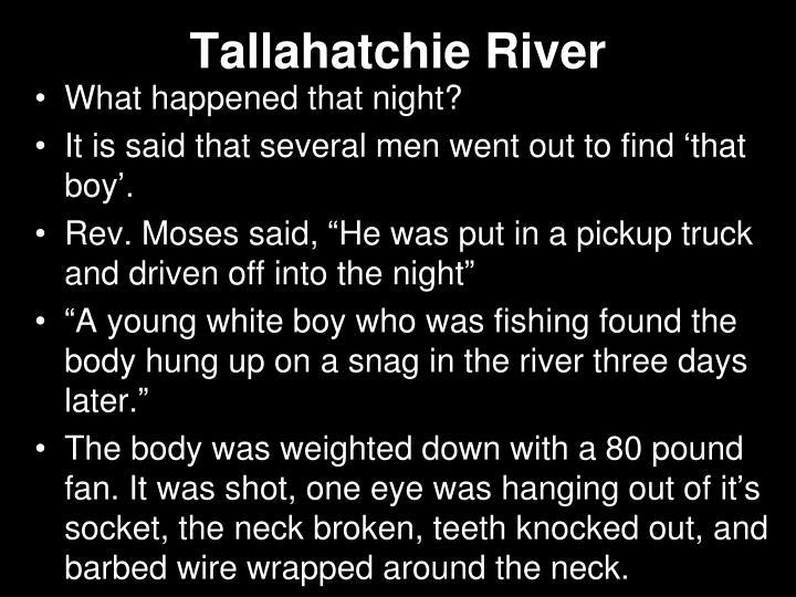 Tallahatchie River