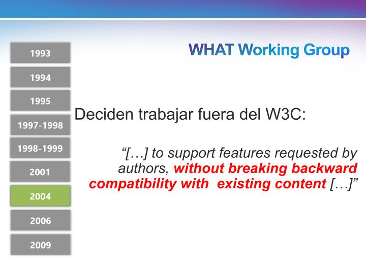 WHAT Working Group