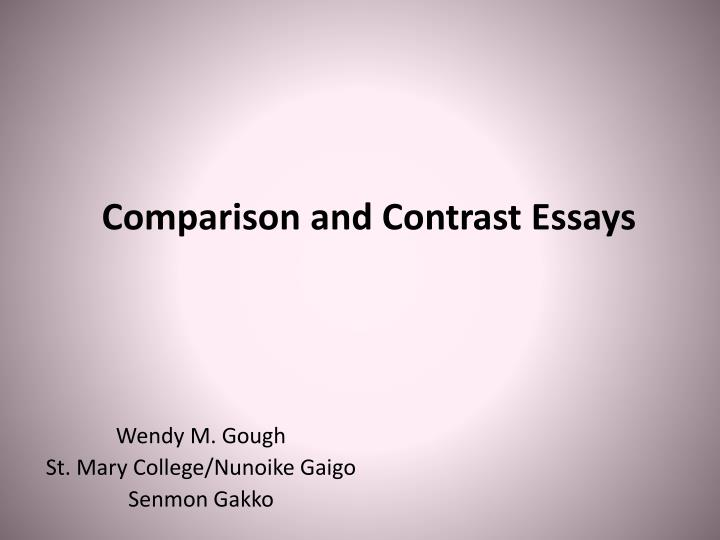 compare and contrast essay on beauty Are you stuck choosing an idea for your next school or college paper discover what you need in the list of 100 inspiring compare and contrast essay topics.