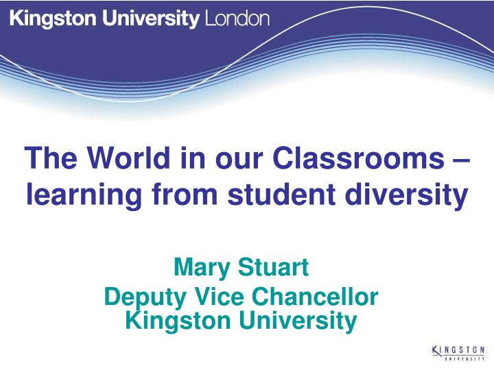 the world in our classrooms learning from student diversity n.