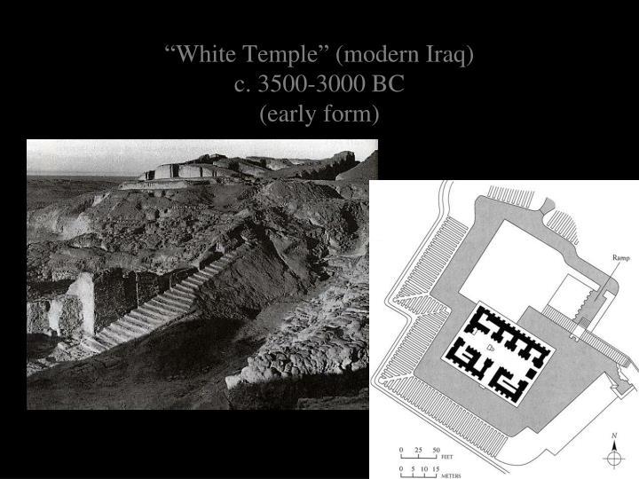 """White Temple"" (modern Iraq)"