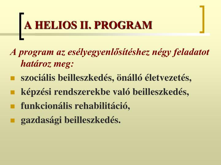 A helios ii program