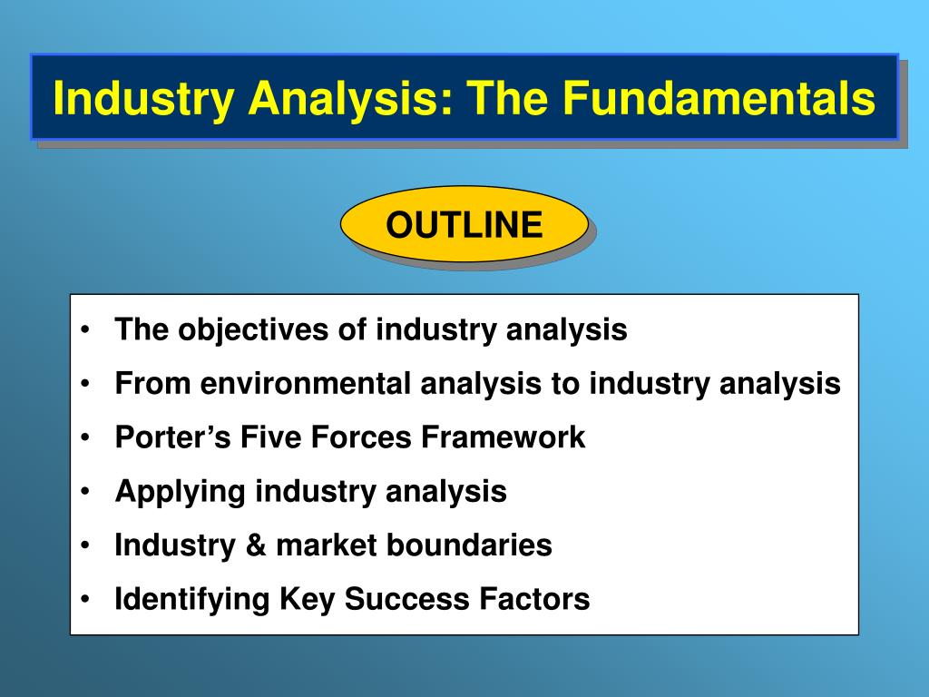 industry analysis outline