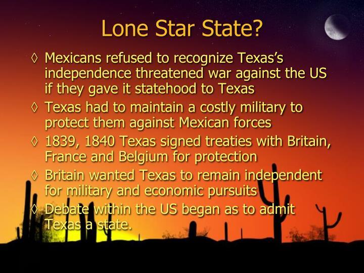 Lone Star State?