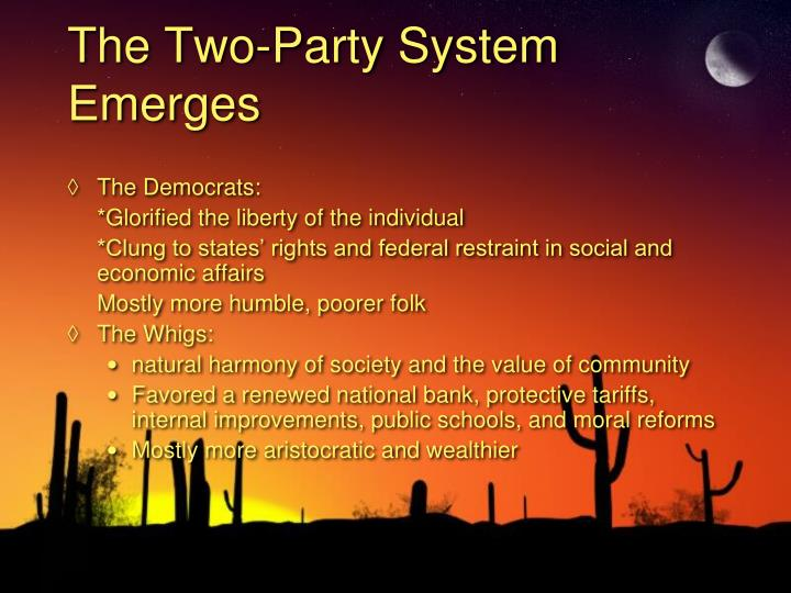 The Two-Party System Emerges