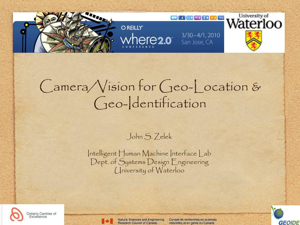 Ppt Camera Vision For Geo Location Geo Identification Powerpoint Presentation Id 5353550