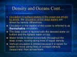 density and oceans cont1