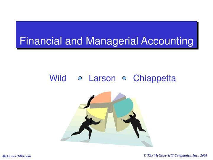 financial and managerial accounting n.