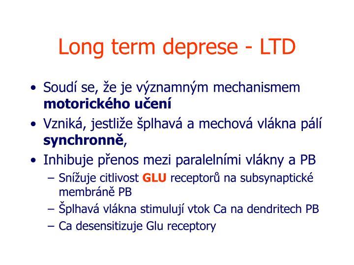 Long term deprese - LTD