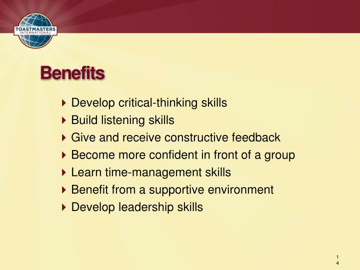 benefits of critical thinking skills The value of critical thinking in nursing + examples clinical skills in nursing are obviously important, but critical thinking is at the core of being a good nurse  critical thinking skills are very important in the nursing field because they are what you use to prioritize and make key decisions that can save lives.