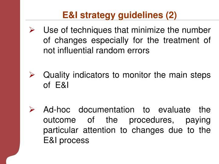 E&I strategy guidelines (2)