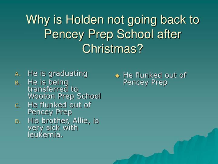 pencey preparatory academy