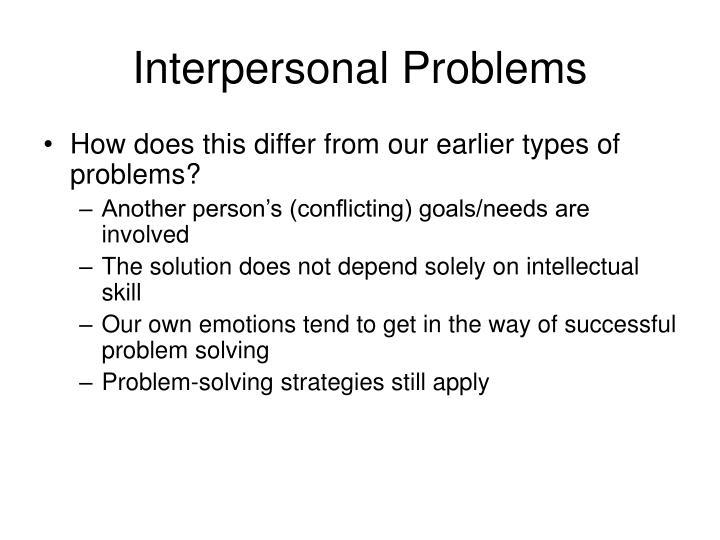 Interpersonal Problems